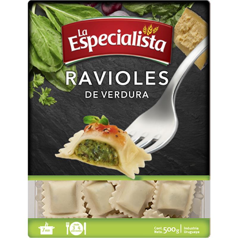 Paquetes para la web ravioles de verdura