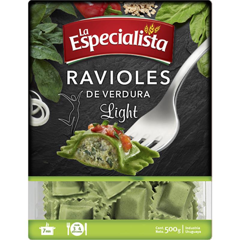 Paquetes para la web ravioles light de verdura