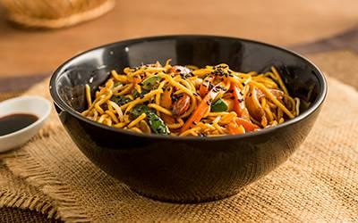 Wok crocante de verduras
