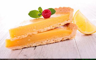 Tarta de limón a la inglesa